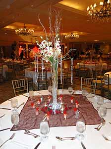 Indian Wedding Table Decorations